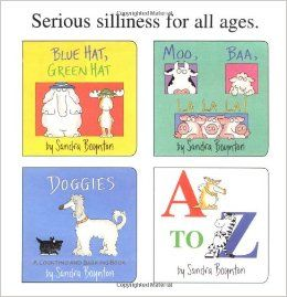 Amazon.com: Boynton's Greatest Hits: Volume 1/Blue Hat, Green Hat; A to Z; Moo, Baa, La La La!; Doggies (Boynton Board Books) (9780689823220...