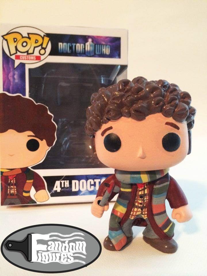 Doctor who 4th doctor tom baker custom funko pop