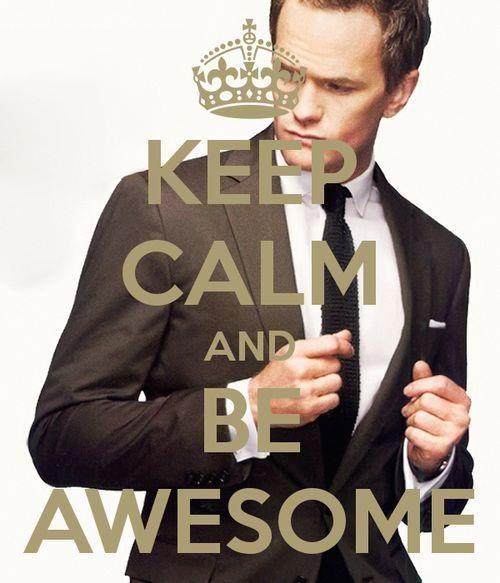 Keep Calm and Barney Stinson.