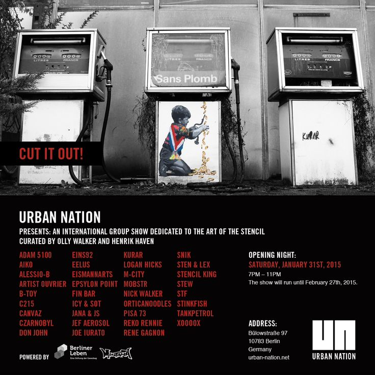 Urban Nation, cut it out Show BERLIN
