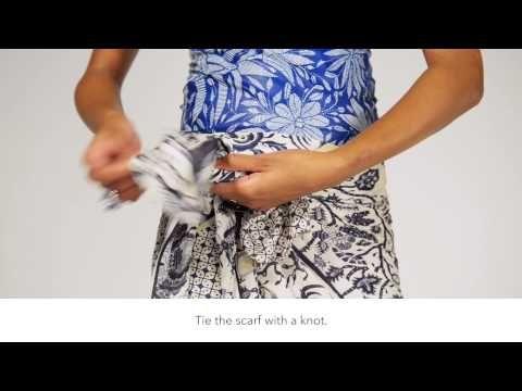 DIY Tutorial Skirt - Vlisco Feel Collection - YouTube