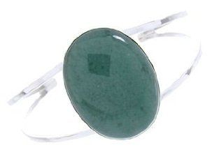 American Indian Bracelet Aventurine And Sterling Silver Jewelry AW65010 SilverTribe. $119.99