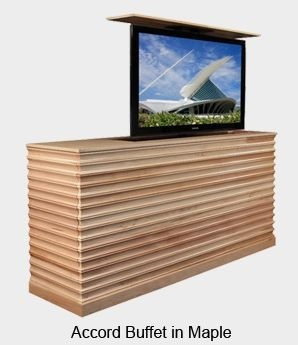Concealed Lift Up TV