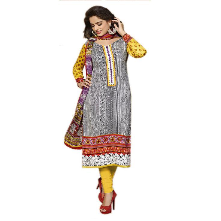 New Indian Designer Salwar Kameez Ethnic Fancy Salwar Suit Patiala Cotton  #Unbranded #IndianPatialasalwarSuit