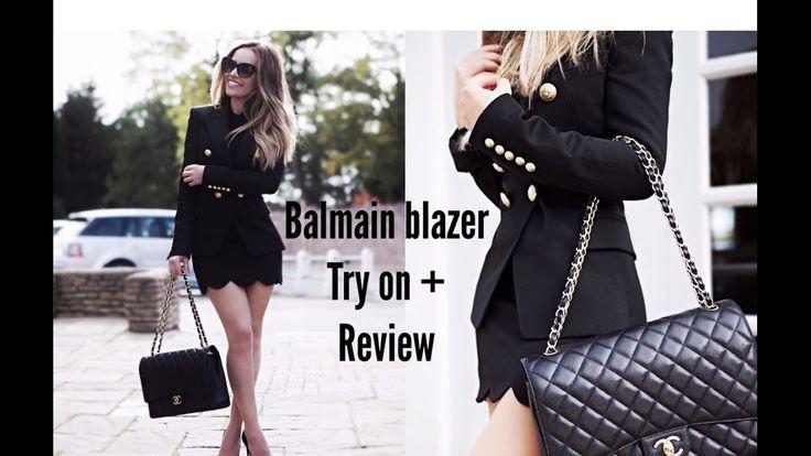BALMAIN BLAZER | TRY ON + REVIEW | NICKY LAZOU