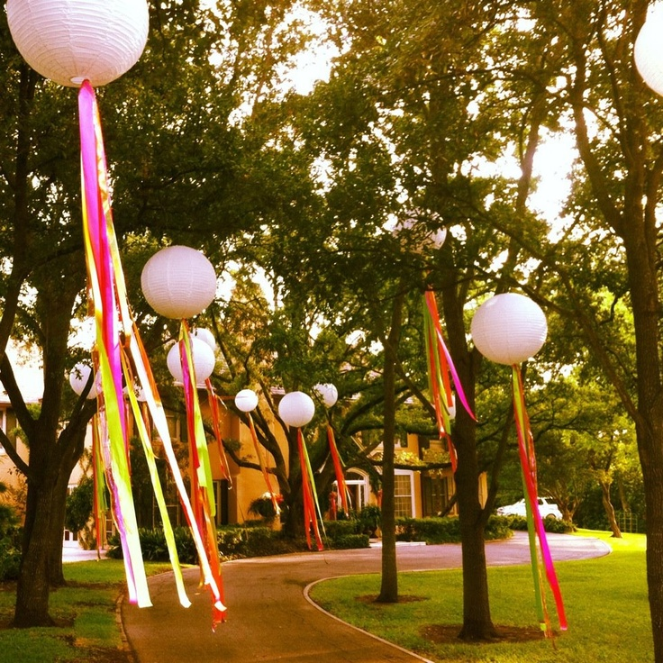 Decorations for Fiesta San Antonio. SO CUTE for a party!