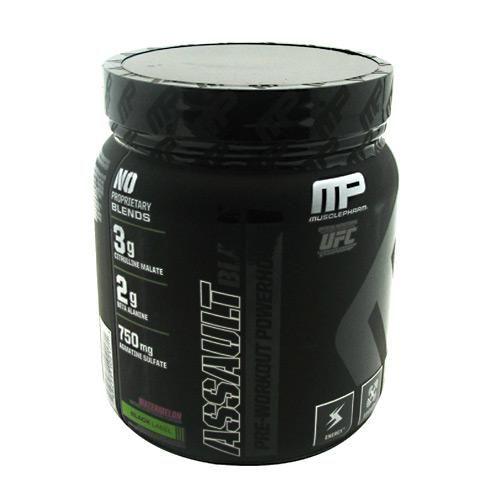 MusclePharm Black Label Assault Black