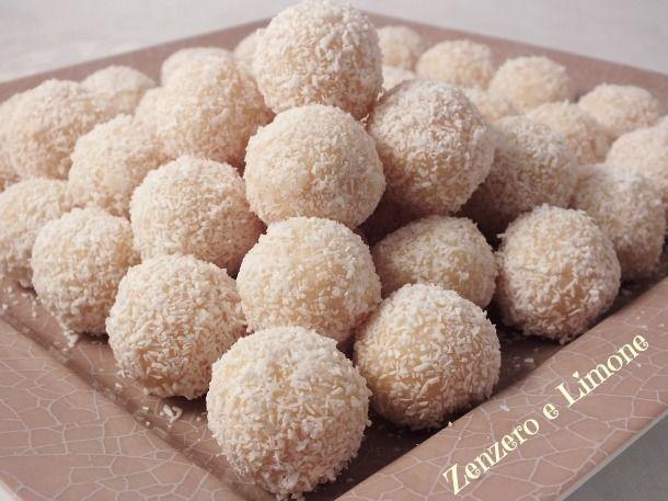 RAFFAELLO | dolcetti al cocco | Zenzero e Limone