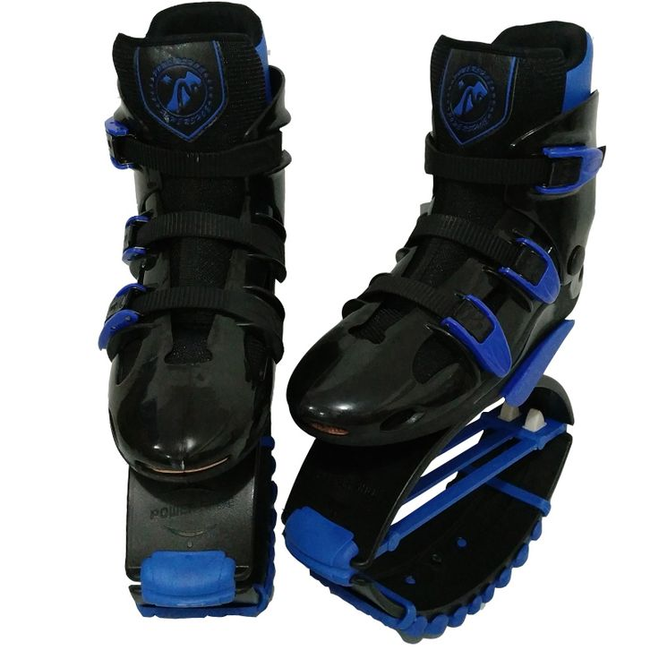 MiaoMiaoLong Jumps Fitness Toning Shoes BKBE4244 Black&Blue Sports Boots US Men 7.5,8.5,9.5 US Women 8.5,9.5,10.5