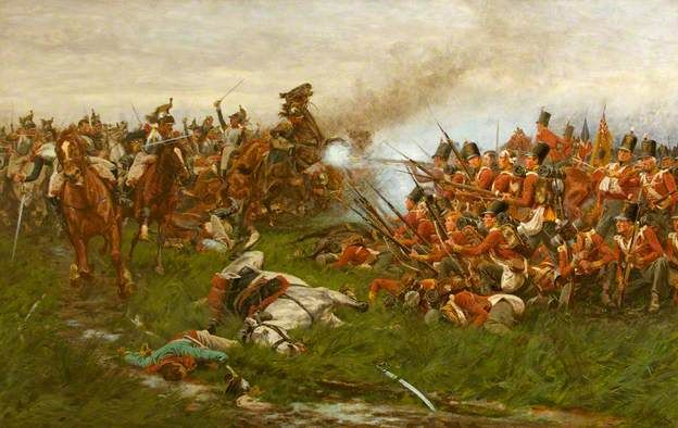 The 28th (1st Gloucestershire Regiment) at Waterloo