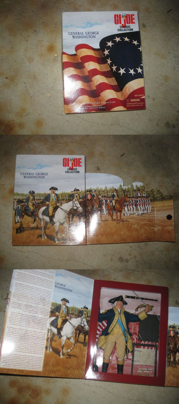 Historical Figures 175694: George Washington Gi Joe Action Figure Mib -> BUY IT NOW ONLY: $70 on eBay!