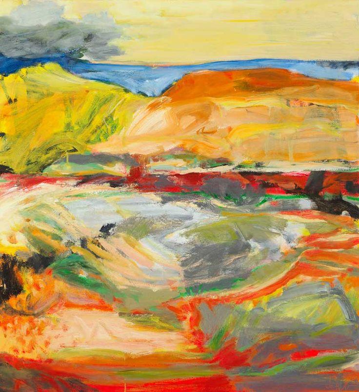 Jo Bertini represented artist at Tim Olsen Gallery ~ Biography and artworks online