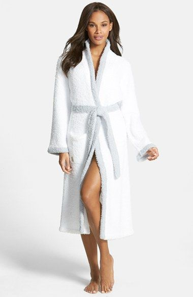 Free shipping and returns on Barefoot Dreams® CozyChic® Contrast Trim Robe at Nordstrom.com. Contrast trim traces a sumptuously soft, cushy robe made from CozyChic, a machine-washable microfiber that won't ever shrink or pill.