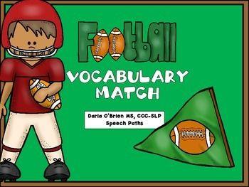 Free! Football Vocabulary Match