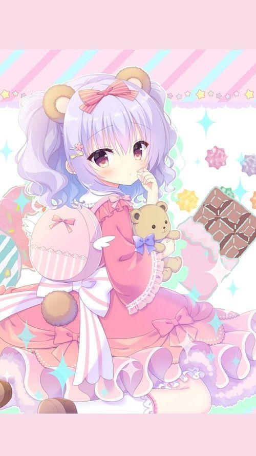 Anime Art Girl Baby Doll Baby Girl Background Beautiful Beautiful Girl Beauty Beauty Girl Cartoon Chibi Cute Baby Design Drawing Fashion