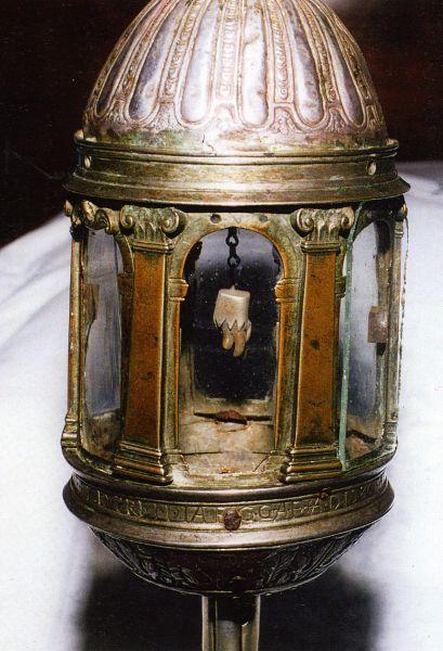 Reliquia del santo