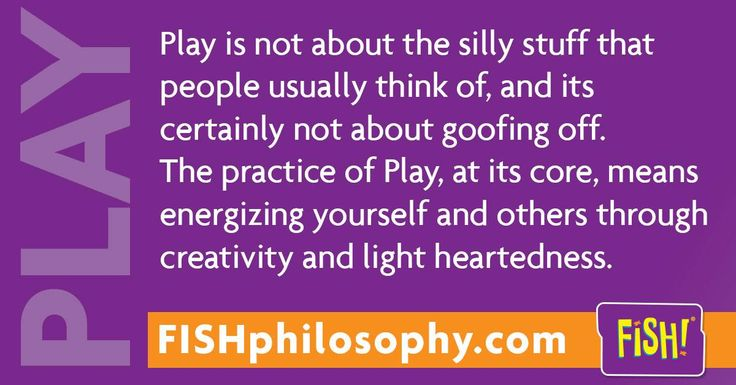 Hello high-creatives! #Play with #FISHphilosophy via (@The FISH! Philosophy) and #Propellergirl