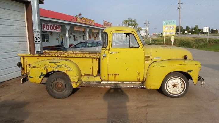 FOR SALE IS A 1953 CHEVROLET PICKUP;. FOR EXAMPLE ITS 900. TO THE NEW JERSEY PORT;. THE ENGINE RUNS VERY GOOD;. I HAVE A CLEAR TITLE;. | eBay!