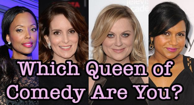 "Which Queen Of Comedy Are You?  You got: Amy Poehler You are so awesome, words can barely describe. You're a writer, a producer, a humanitarian, and, oh yeah, A COMEDIC GENIUS. From imitating Christopher Walken on ""SNL"" to making Leslie Knope the world's most beloved and relatable feminist, you're everyone's favorite person. Plus, everyone wants to party with you, 'cause you are obviously the most fun ever at parties."