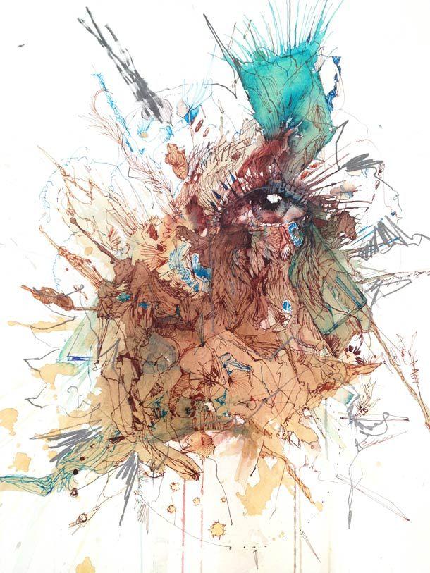L'art de la Coulure – 19 Illustrations par Carne Griffiths