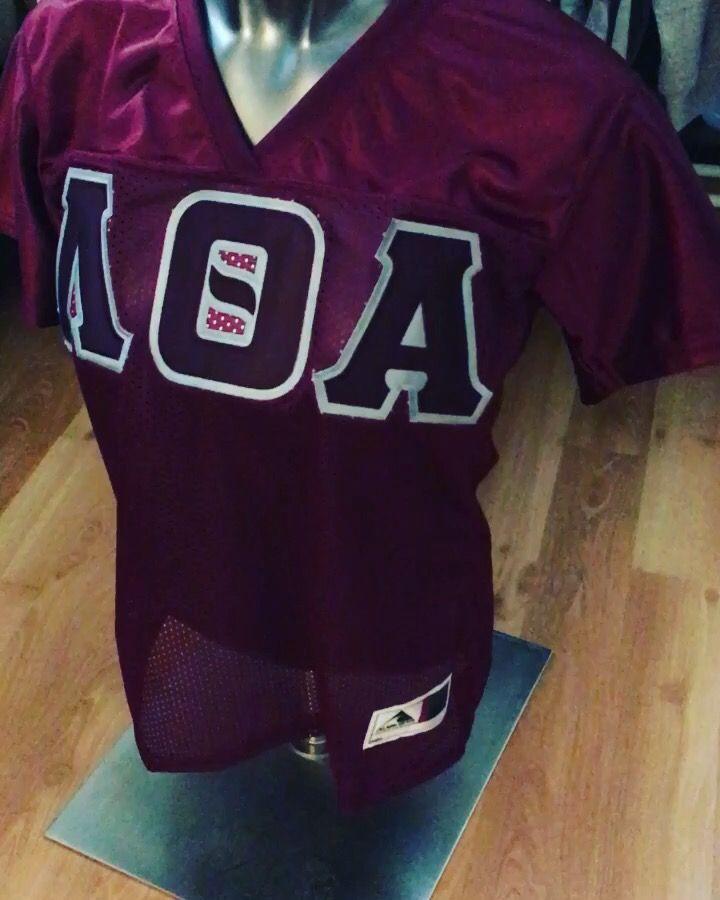 Lambda Theta Alpha Football Jersey