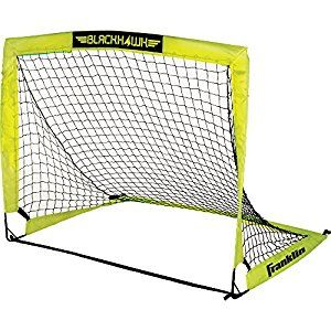 Amazon.com : Franklin Blackhawk Portable Soccer Goal, Small : Sports & Outdoors