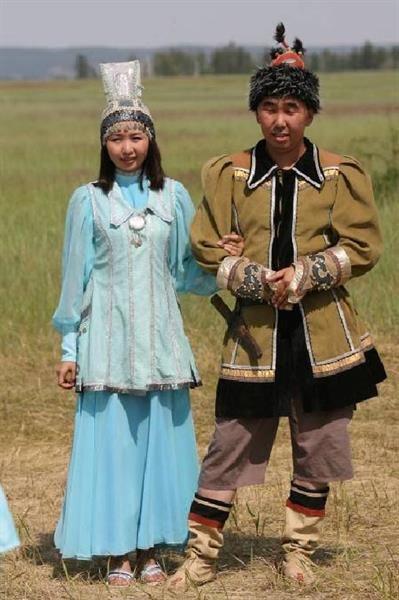 Мужской национальный костюм ханты