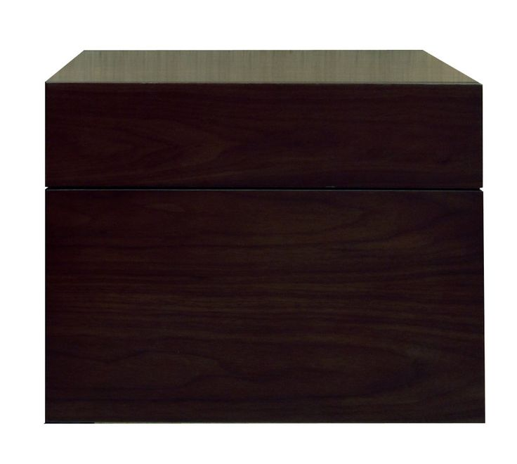 """View the Sagehill Designs MT1818D Modesta Walnut 18"""" Wall Mount Wood Vanity Cabinet Only at Build.com."""