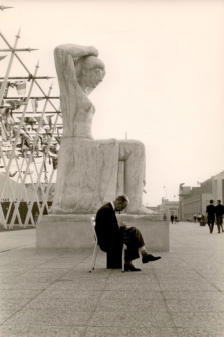 Brussels, Belgium, 1958, Gerard Castello Lopes. Portuguese (1925 - 2011) (Source: Eric Franck Fine Art )