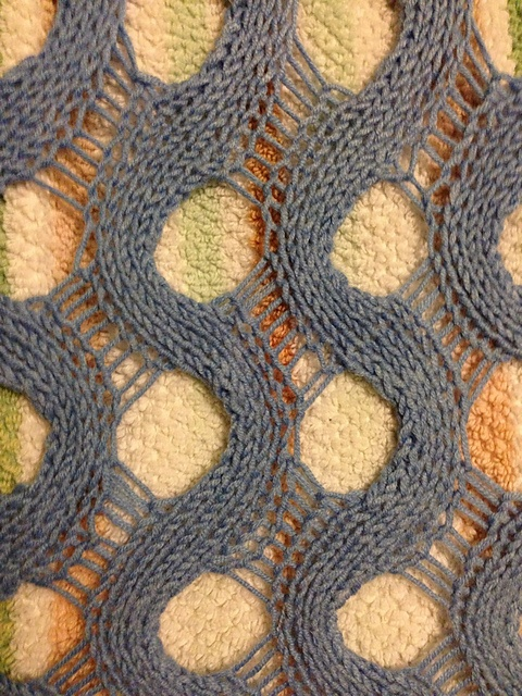 Another dropped stitch pattern. Ravelry: Project Gallery for Summit pattern by Mandie Harrington