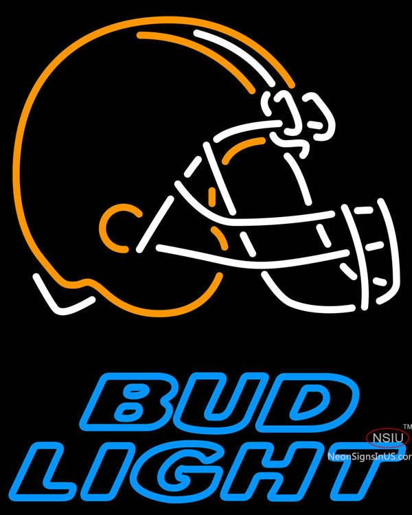 Bud Light Neon Cleveland Browns NFL Real Neon Glass Tube Neon Sign,Affordable and durable,Made in USA,if you want to get it ,please click the visit button or go to my website,you can get everything neon from us. based in CA USA, free shipping and 1 year warranty , 24/7 service