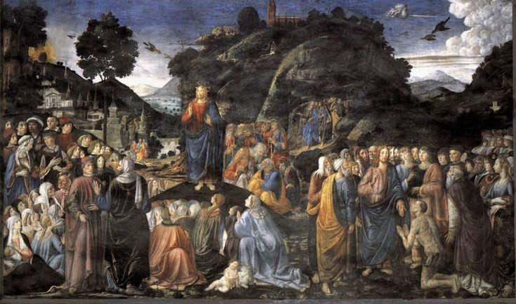 Sistine Chapel Northern Wall-Sermon on the Mount