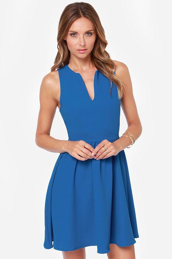 1000  ideas about Cute Blue Dresses on Pinterest  Vestidos Blue ...