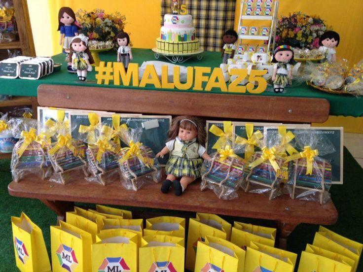 Fofurebas By Jackie: Festa Novela Carrossel da Malu