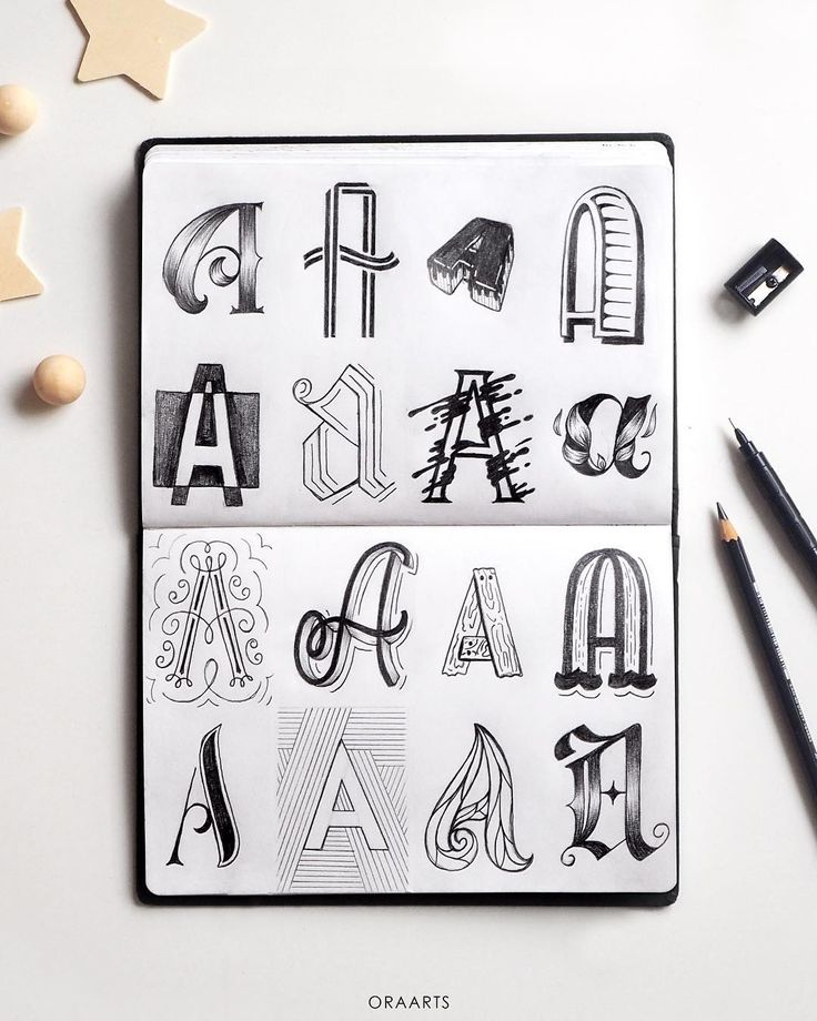 Best  Alphabet In Different Fonts Ideas On