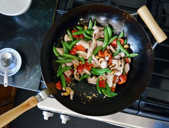 great primer on how to stir fry - good basic recipe - wok tips - excellent!