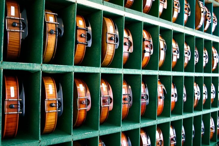 Our #rental program offers #violins, #violas and #cellos that are affordable and expertly set up for ease of play.