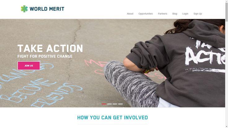 Worldmerit una plataforma para participar de proyectos sociales.