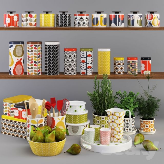 Orla Kiely Kitchen Set