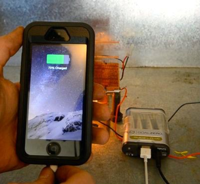 Picture of Recycled Energy - $7.50 Generator! - ThermoElectric Generator