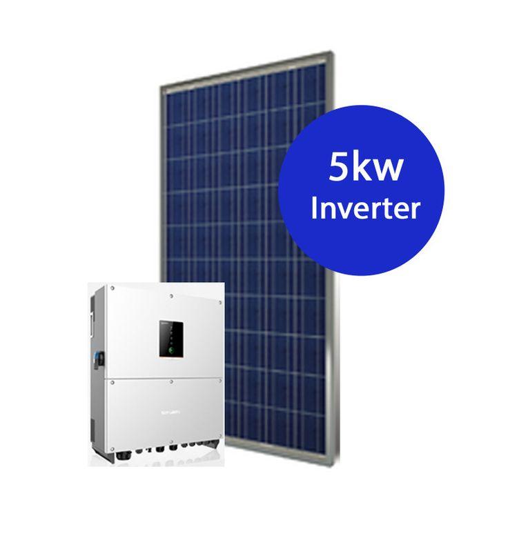 6.3kw Solar System - 20 x 315w Simax panels 5kw Sungrow inverter
