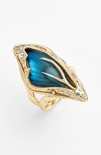 Alexis Bittar 'Lucite® - Jardin Mystère' Butterfly Wing Statement Ring available at #Nordstrom
