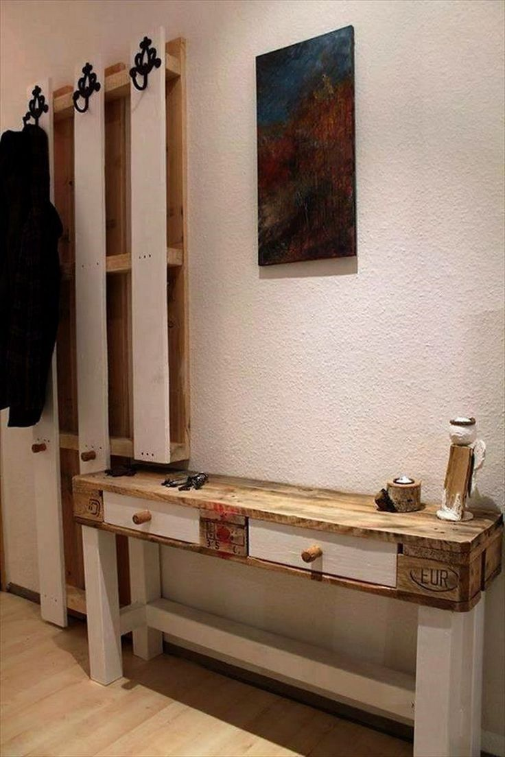 Pallet Entry Table 607 Best Recycled Pallets Images On Pinterest Recycled Pallets