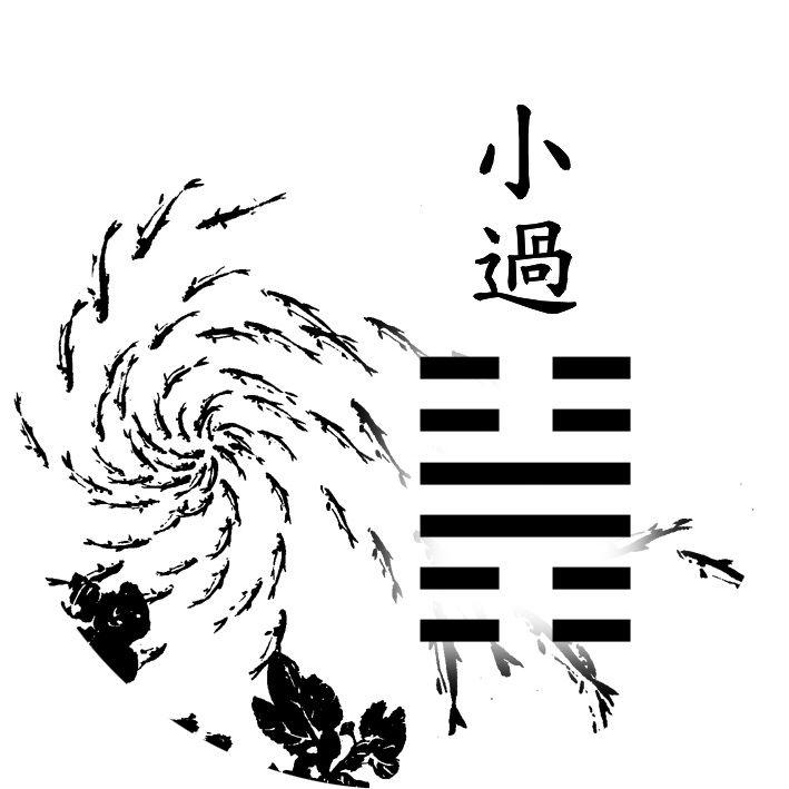 62. ¦¦||¦¦ - Small Exceeding (小過 xiǎo guò)