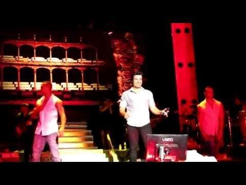 GIGANTE2 TOUR  TORERO - CHAYANNE VELEZ ARGENTINA 2012
