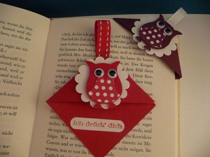 Titelbild Schoenes Aus Papier Von : Ideen zu eck lesezeichen auf origami