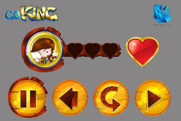 go king interface by David Hernandez, via Behance