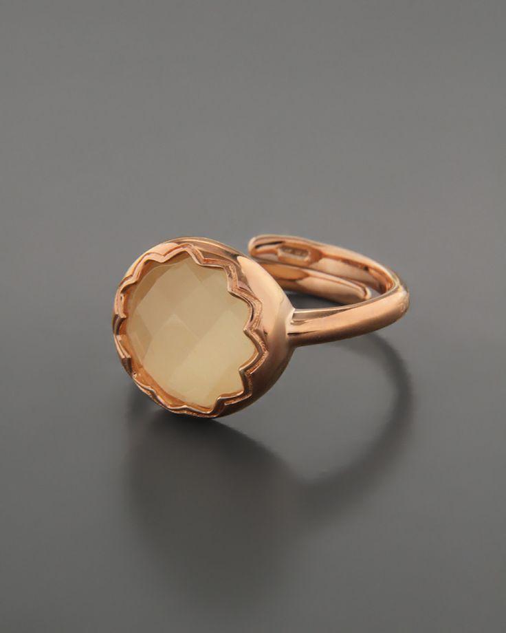 Δαχτυλίδι ασημένιο 925 με Μάτι της Γάτας
