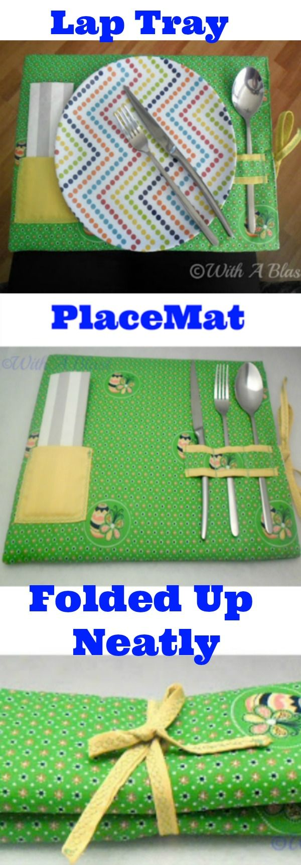 Easy DIY ~ Must have for Summer - use as a lap tray or a place mat !