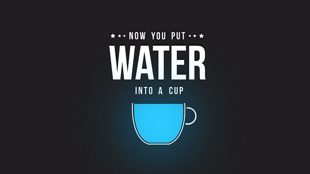 "Be Water - Kinetic Typography by Albert Oriol. Kinetic Typography of Bruce Lee's famous quote ""Be water my friend""."